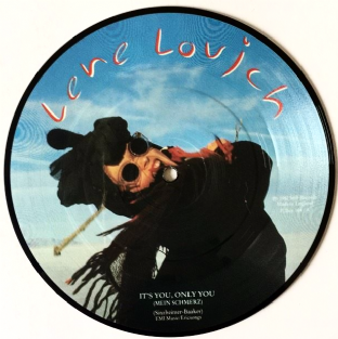 "Lene Lovich ‎- It's You, Only You (Mein Schmerz) (7"") (Picture Disc) (VG++/NM)"